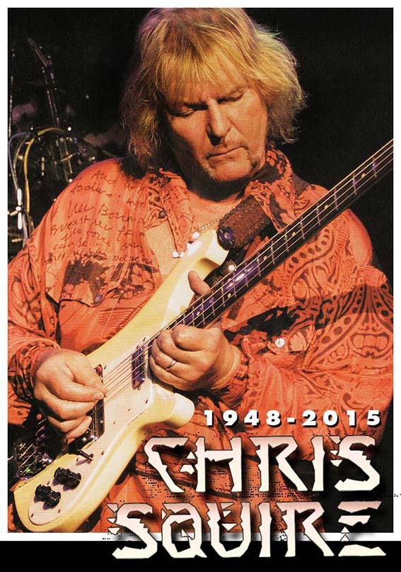 CHRIS SQUIRE On the silent wings of freedom
