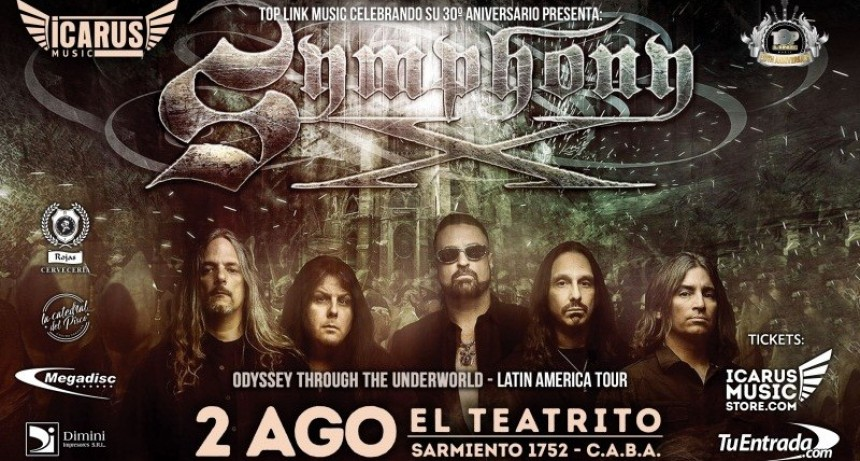 SYMPHONY X: Una Odisea a Latino America