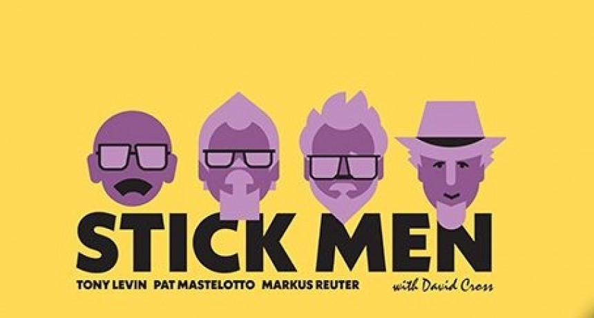 Stick Men + David Cross como se reinventan aventuras progresivas