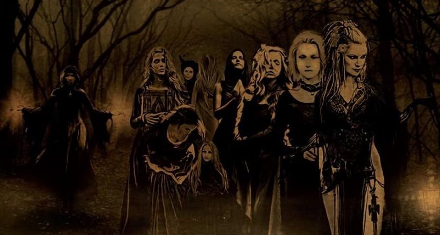 Nueve brujas amigas
